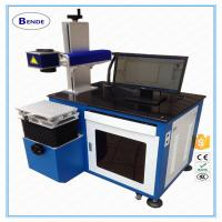 50W CO2 laser marking machine for nonmetal material Manufactures