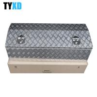 China Fully Welded Metal Tool Storage Box , Metal Tool Box For Trailer on sale