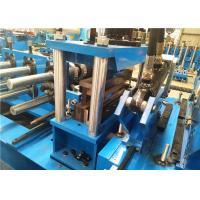 Size Interchangeable C Z Purlin Forming Machine Full Automatic Easy Operation Manufactures