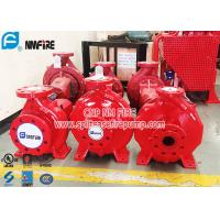 Single Stage Horizontal Centrifugal End Suction Fire Pump Set With Diesel Engine Manufactures