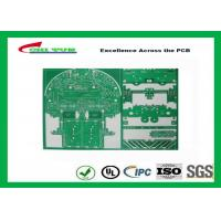 China Plated HALF Hole PCB Double Layer Approved Rohs Amplifier Equipment PCB on sale