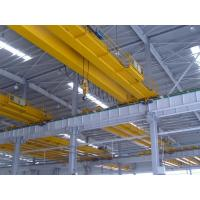 Double girder warehouse overhead crane with weight scale for sale