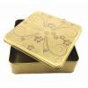 Buy cheap Metal Tin Box Tin Metal Lunch Box Handle Metal Soap Tin Box Square Tin Box from wholesalers