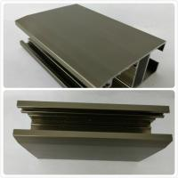 T4  T5 Oxidizing Bronze Anodized Aluminum Channel With Customized Shape Manufactures