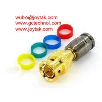 China BNC Coaxial Connector Compression Type 75ohm RG174 Coax Cable/BNC.MC75.174.06 on sale