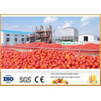 China SS304 900-1000 T/day Ketchup Tomato Paste Sauce Production Line on sale