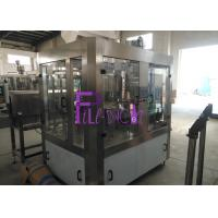 PLC Control High Speed Automatic Water Filling Machine For Plastic / PET Bottle Manufactures