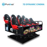 China Mobile Cinema Theatre Equipment , Shooting Game Powerful 7d Interactive Theater on sale