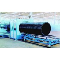China Plastic Sprial Pipe Production Line , Pvc Pipe Making Machine on sale