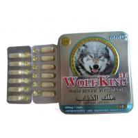 Quality Wolf King Herbal Male Enhancement With 6800mg*12pills for sale