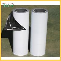 China Low Adhesion Black&white Protective Film For Mirror Polished Stainless Steel Sheet on sale