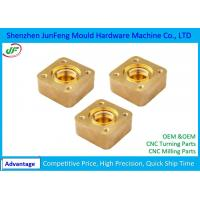 Stainless Steel / Brass CNC Machine Parts , CNC Milling Parts 0.002 ID / OD Grinding Manufactures