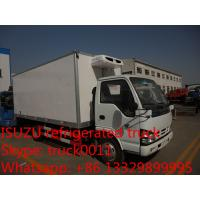 China hot sale Japane Brand 4*2 ISUZU 5ton cold room truck, best price ISUZU brand LHD 3tons-5tons refrigerated truck for sale on sale