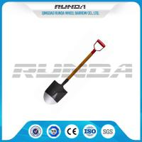 Long Handle Garden Spade Shovel Good Hardness Multifunction 225x295x1020mm Manufactures