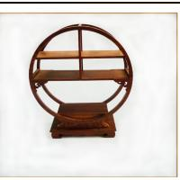 Classic Solid Wood Small Curio Shelf , Wooden Display Stand With Detailed Hand Craft Manufactures