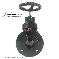 China Hand Operated BS5163 Casting Iron Soft Seal 4 6 Inch PN10 Water Gate Valve on sale