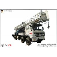 China 350m Dth Rotary Water Well Drilling Rig 115kw Truck Chassis Borehole Drill on sale