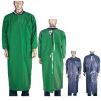 Industrail Protective PVC Long Sleeve Apron Safety For Adults 0.15-0.4mm Thickness Manufactures