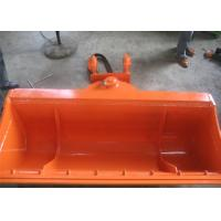 China High Efficiency Excavator Tilt Bucket , Excavator Tilt Hitch Hitachi ZX120 With Bolted Edge on sale