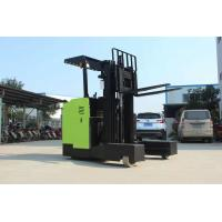 48V Lifting Height 3 - 8m Reach Truck Forklift Electric Stacker Forklift 12 Months Warranty