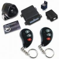 Remote Car Alarm System with Digital Pin Code Manufactures