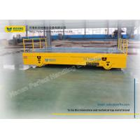 China Mould Heavy Duty Plant Trailer Electric Building Site Track Bogie Handling Vehicle on sale