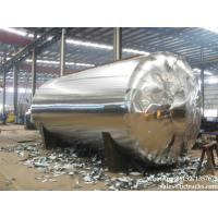 Stainless steel horizontal  storage-45000L-chemical-tank  insulated rockwood 8cm Manufactures