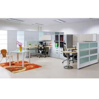 China 25mm E2 MFC Table top Office Furniture Workstations CD-T10-8870 with Chrome plated legs on sale