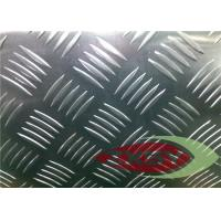 Professional Flat Clean Aluminium Checkered Plate , Aluminum Tread Plate Manufactures