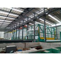 Durable Hot Dip Galvanizing Plant  5mm - 8mm Large Reduce The Zinc Consumption Manufactures