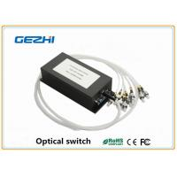 1x N Single mode Optical Switch Fiber Optics Components for telecommunications Manufactures