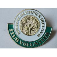 Metal Pewter / Iron / Brass Special Olympics Ireland Custom Enamel Pins, Custom Made Pins Manufactures