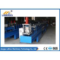 PLC Control Full Automatic Garage Door Guide Rail Forming Machine durable high efficiency Manufactures