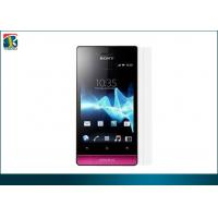 Customized Cell Phone Screen Protectors Without Haziness, Bubbles For Sony St23i Manufactures