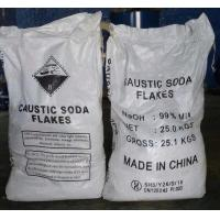 GB209-2006 Sodium Hydroxide Flakes / Caustic Soda Flakes Industrial Grade Manufactures