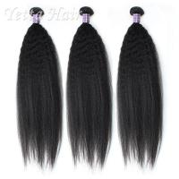 China Natural Black Grade 7A Cambodian Virgin Hair No Fiber No Matting on sale