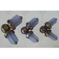 Iron 25mm Curtain Rods Finials Accessories with Painting Surface for Blinds Manufactures