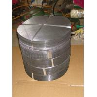 China Black Wire Cloth Filter Discs on sale