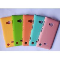 Rubber Coating Nokia Cell Phone Cases Shock Proof Nokia 720 Protection Case Manufactures