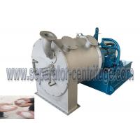 One Stage Pusher Chemical Centrifuge For Copper Sulfate Dehydration Machine Manufactures