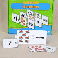 Mathematics Custom number Jigsaw Puzzles double printing service Manufactures