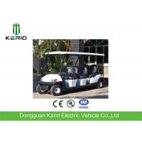 Powerful DC Motor Electric Golf Carts 8 Seats for Restaurant Hotel Resort Sightseeing Manufactures