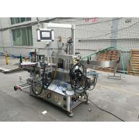 Full Automatic Adhesive Double Side Bottle Labeling Machine With Coder Manufactures