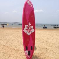 Red 15PSI Pressure Racing Paddle Boards / Blow Up Stand Up Paddle Board Manufactures