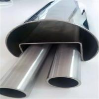 201 304 mirror polish stainless steel groove tubes and SS slot pipes for railing decoration Manufactures