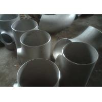 Corrosion Resistant Welded Steel Pipe Fittings , 2 Inch Schedule 40s A403 Stainless Steel Equal Tee Manufactures