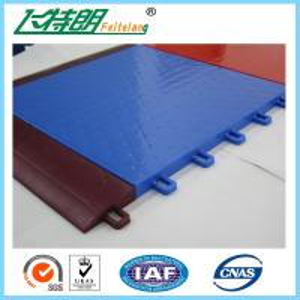China PP Anti Slip Plastic Interlocking Rubber Floor Tiles For Table Tennis Sport on sale