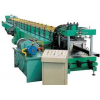 Industrial Metal C Purlin Roll Forming Machine , Steel Roll Forming Machine  Manufactures