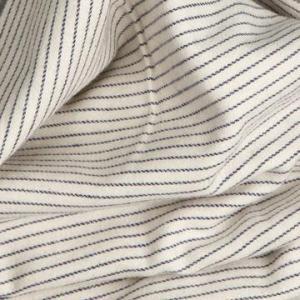 Cotton Stripe Fleece Fabric, Yarn Dyed, Twill Manufactures