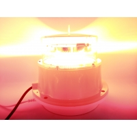 China Suprior waterproof AC power white flashing mediun intensity aviation obstruction lamp for chimney high rise building on sale
